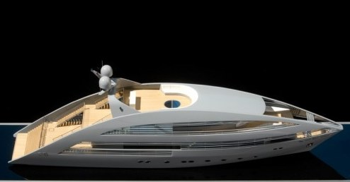 Super-yacht by Norman Foster