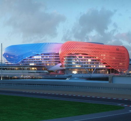 New surprising hotel in Abu Dhabi