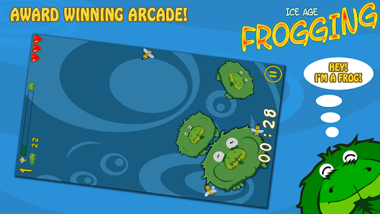 Ice Age Frogging Free- screenshot thumbnail