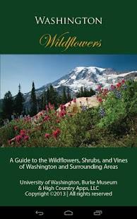 Washington Wildflowers - screenshot thumbnail