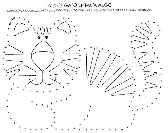 Laminas Para Completar Dibujos De Animales Por Ninos