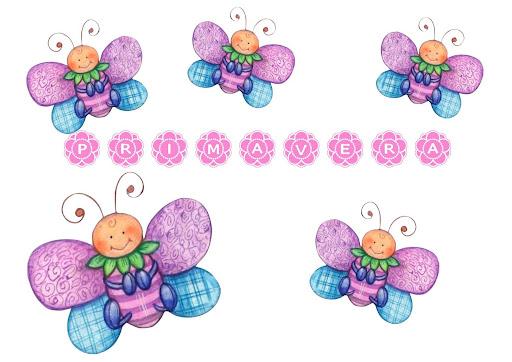 Dibujos De Mariposas Infantiles A Color: Mariposas Infantiles Para Imprimir