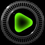Poweramp skin Neon Green v1.34