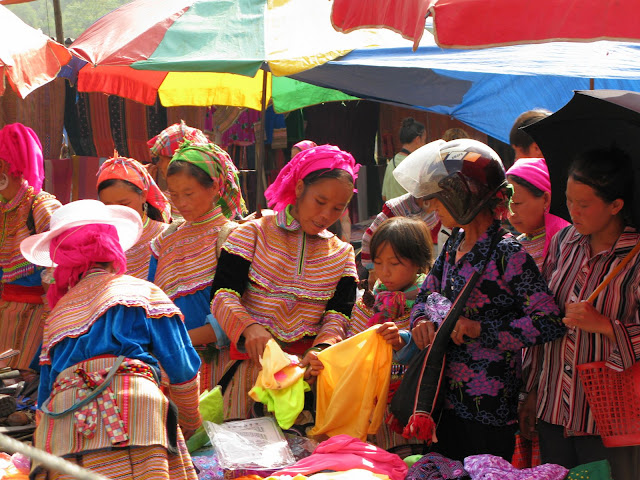 Market in Bac Ha, Vietnam