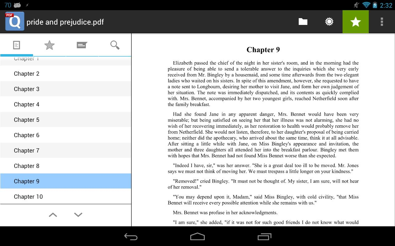 qPDF Viewer Free PDF Reader - screenshot