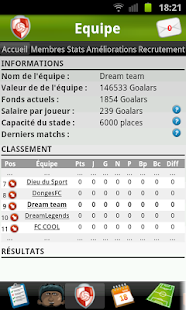 Star du Foot Capture d'écran