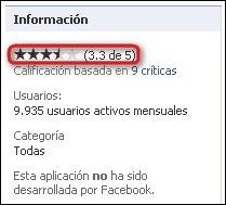Criticas de la aplicacion Facebook