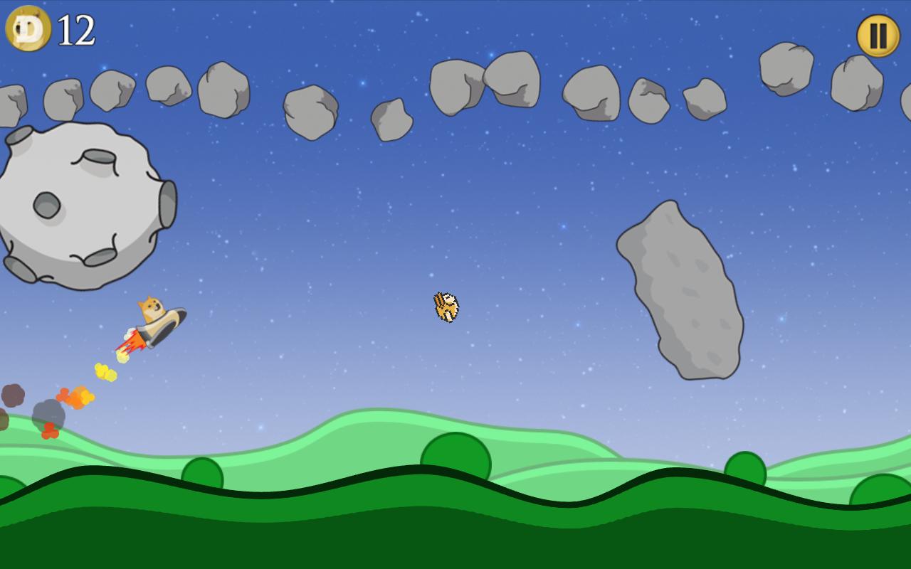 Doge Moon Mission - screenshot