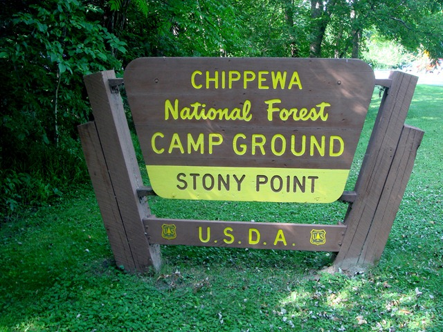 Scott: Stony Point National Forest Campground