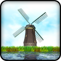 3D Windmill Live Wallpaper icon