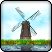 3D Windmill Live Wallpaper