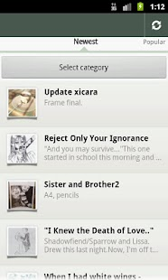 DeviantArt RSS Feeds - screenshot thumbnail