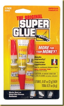 super glue three pack