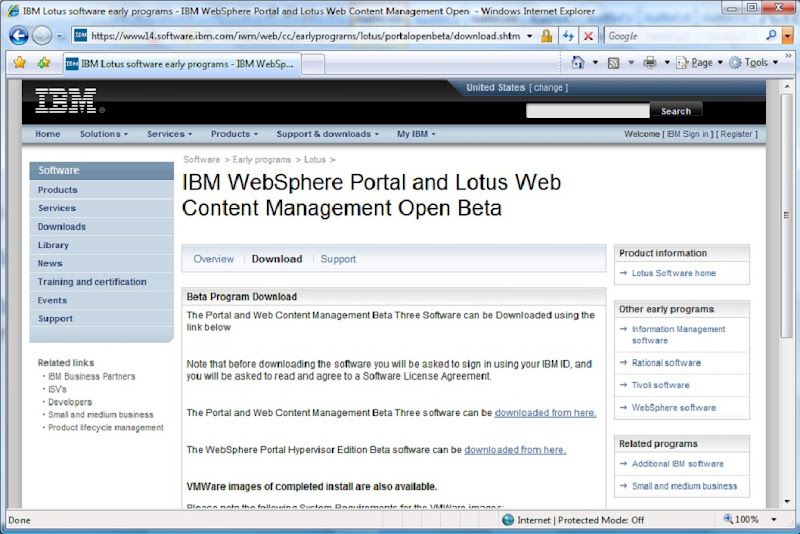 Evaluating WebSphere Portal Server 7: A journey Into the WPS
