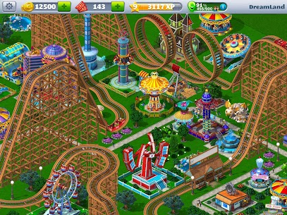 RollerCoaster Tycoon 4 Mobile MOD (Unlimited Money) 1