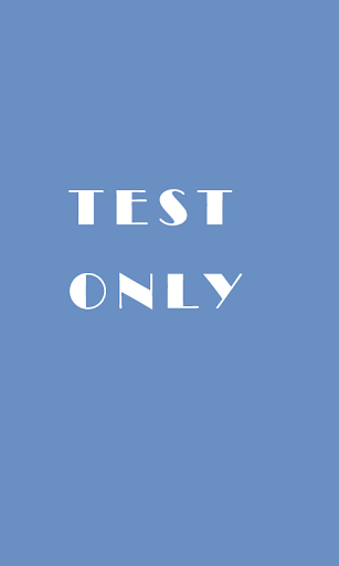 Testing Only. DON'T Download