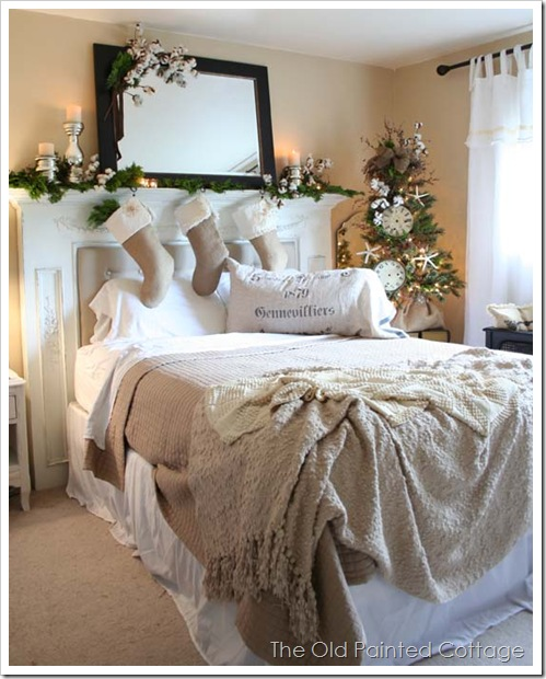 The Old Painted Cottage {The Blog}: Cottage8: Burlap Tree