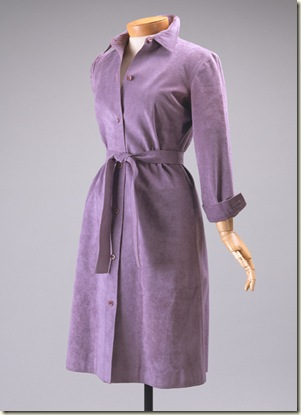 metropolitan museum of fine art ultrasuede dress
