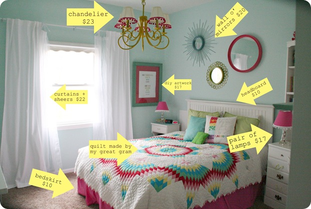 How to decorate series day 15 putting a room together How to redo a bedroom cheap