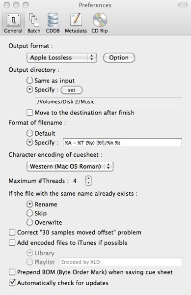 Lossless Music Store: Convert FLAC to Apple Lossless on a Mac