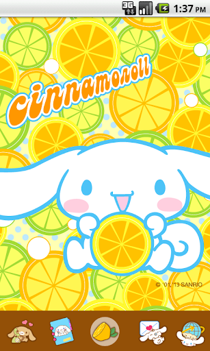 Cinnamoroll Lemon Fresh Theme