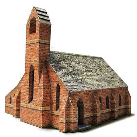 Cottam Chapel Papercraft