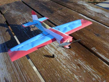 Remote Control Papercraft Airplane