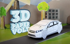 Chevy Volt Papercraft