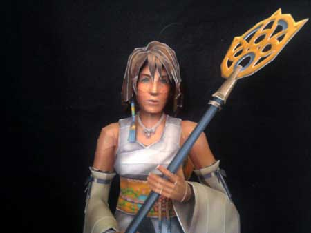 Final Fantasy X Yuna Papercraft Summoner