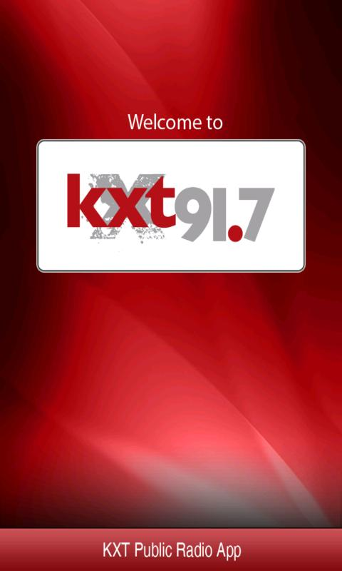 KXT Public Radio App- screenshot