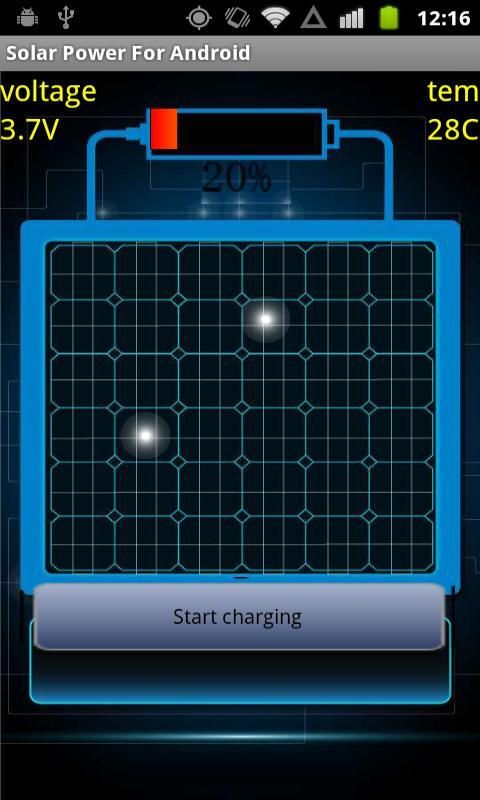 Solar Power For Android - screenshot
