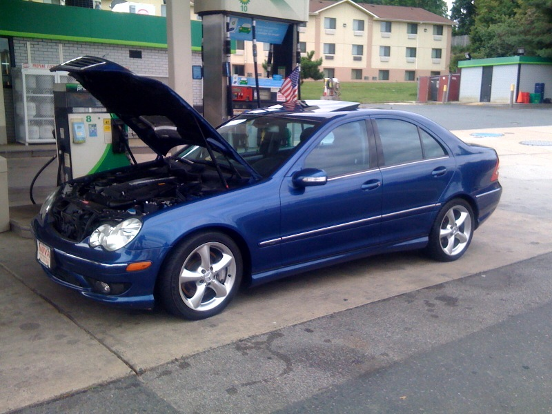 VWVortex com - Mercedes Benz W203 2005 C230 replacing valves