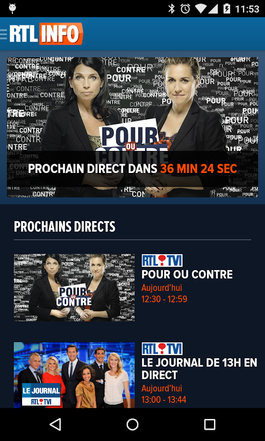 RTL info- screenshot