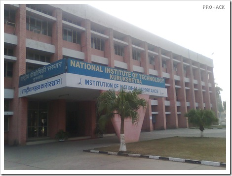 NIT KU - The Institute of National Importance