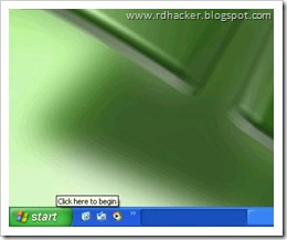 Change XP start button – The second way