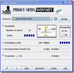JAP JonDo - one of the best proxy software - rdhacker.blogspot.com