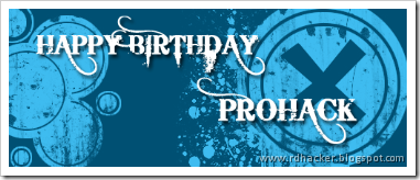 Happy Birthday PROHACK