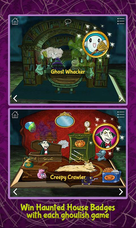 Haunted House ~ 3D Pop-Up Activity Book- screenshot