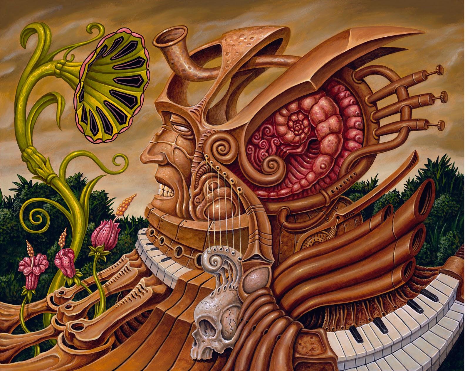Drug inspired art.   THCFarmer Community