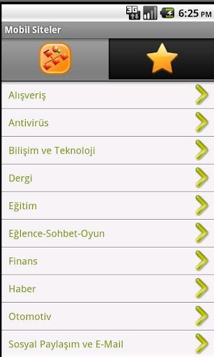 Mobil Siteler