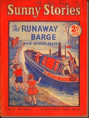 Sunny Stories. The Runaway Barge.1954