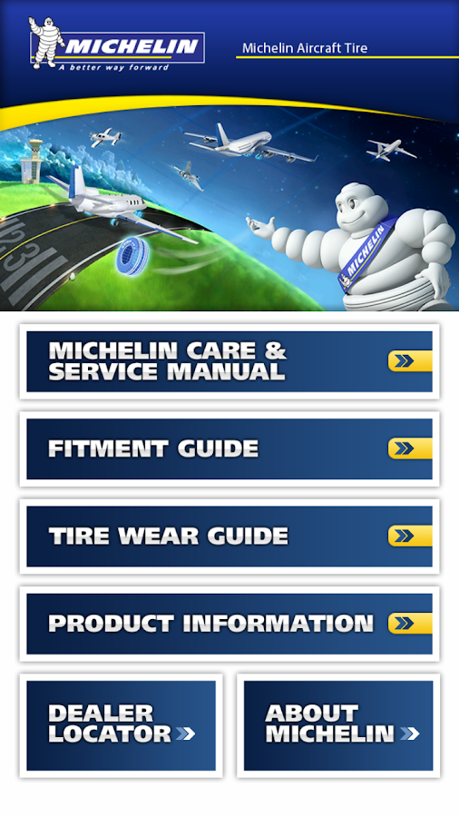 Michelin Aircraft Tire- screenshot