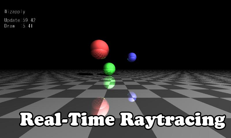 Real-Time GPU Raytracing - screenshot