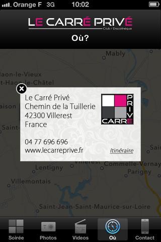 Le Carré Privé - screenshot