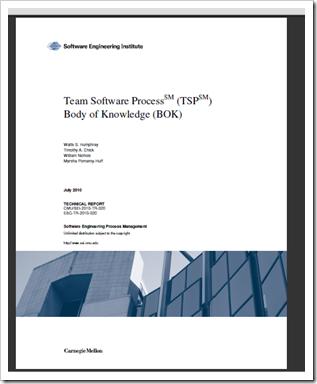 "DoD TSP BOK - Free eBook, ""Team Software Process (TSP) Body of"