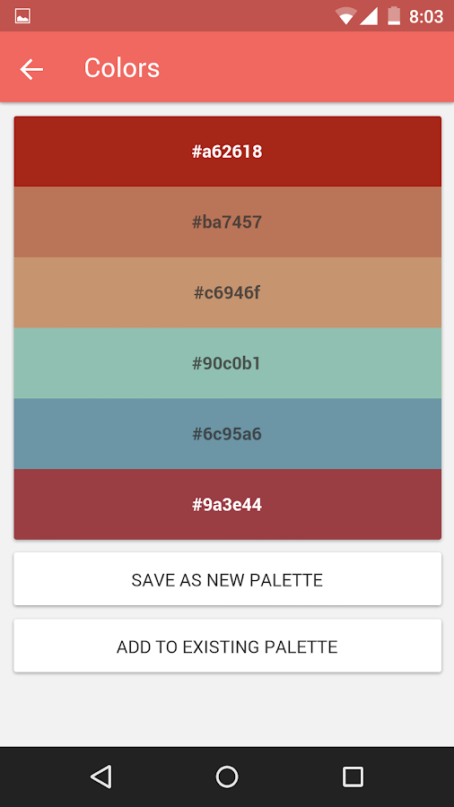 Croma - Palette Manager- screenshot