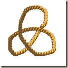 Plaited Braid Essential Path is Like a Triquetra