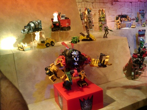 Transformers 2 - Return Of The Fallen - Devastator Toy Pics