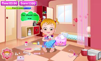 Screenshot of Baby Hazel Doctor Play
