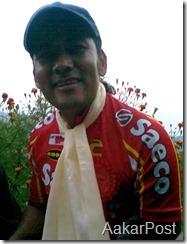 World Cyclist Pushkar Shah